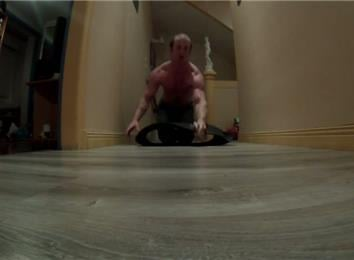Longest 90-Degree Static Hold One-Armed Back-Of-Hand Push-Up