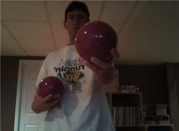 Longest Time Juggling Three Four-Pound Balls
