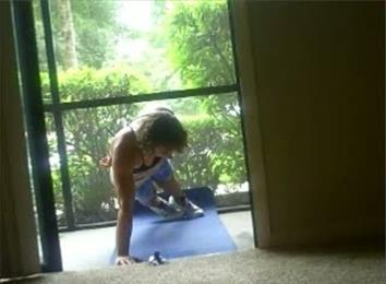 Most Strict Chest-Touching-Ground One-Arm Push-Ups In Two Minutes
