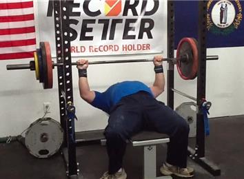 Most Reps Bench Pressing A 295-Pound Barbell (Athlete Under 235 Lbs.)
