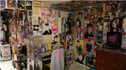 Most Posters On The Walls Of A Bedroom