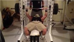 Heaviest Raw Bench Press (Athlete Under 210 Lbs.)