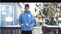 Longest Time Juggling Three Snow Balls With Bare Hands