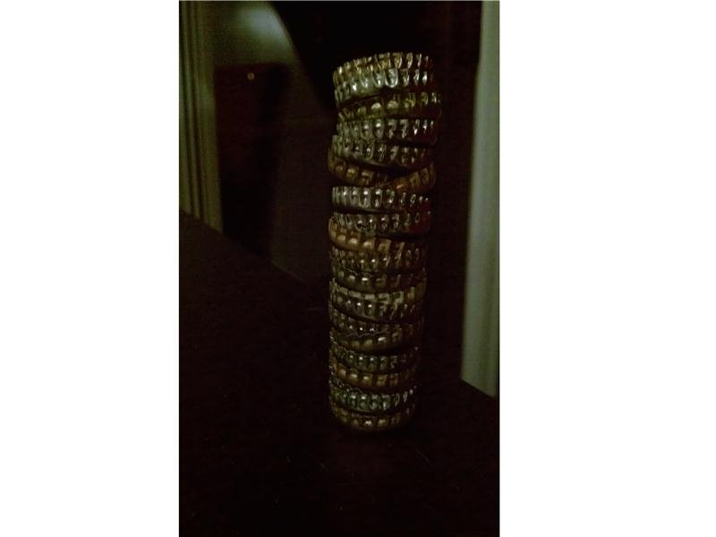Tallest Beer Cap Stack (Inverted)