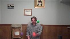 Longest Time To Bounce Juggle A Three-Ball Cascade Synchronized Pattern With Four Four-Inch Diameter Bounce Balls While Kneeling