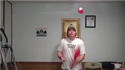 Fastest Time To Complete 47 Catches While Juggling Two Clubs In A One-Handed Flats Column Pattern