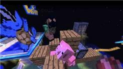 "Farthest Pig Cannon Shot In ""Minecraft"""