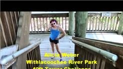 Fastest 40-Foot Arm Walk In Withlacoochee River Park