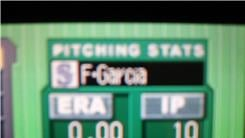 "Most Scoreless Innings Pitched By One Pitcher In ""Baseball Advance"" (Game Boy)"