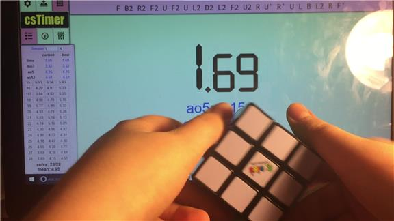 Fastest Checkerboard Pattern On A Rubik\'s Cube