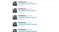 Most Consecutive Tweets Sent With A #WorldRecordMostTweets Hashtag