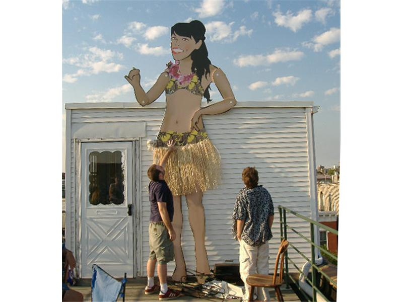 Tallest Hula Girl