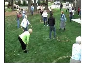 Largest Group Of Cancer Survivors And Caregivers To Hula Hoop At Once