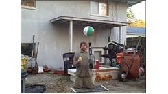 Longest Time To Hover A Ball With A Leaf Blower While Kneeling And Juggling Two Tennis Balls