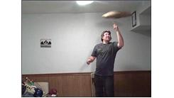 Most Consecutive Throws While Spinning A Pillow On One Finger In One Minute