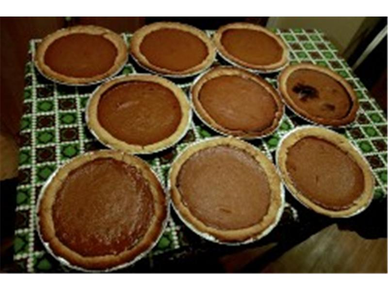 Most Homemade Pies Donated To A Mission