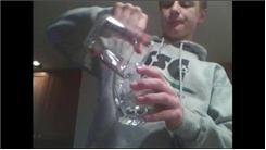 Fastest Time To Drink 1/4 Pint Of Water