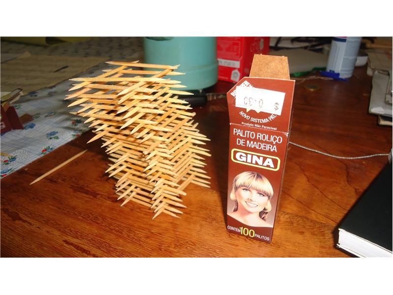 Tallest Toothpick Tower