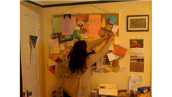 Most Notes Written By Cancer Survivors On A Bulletin Board