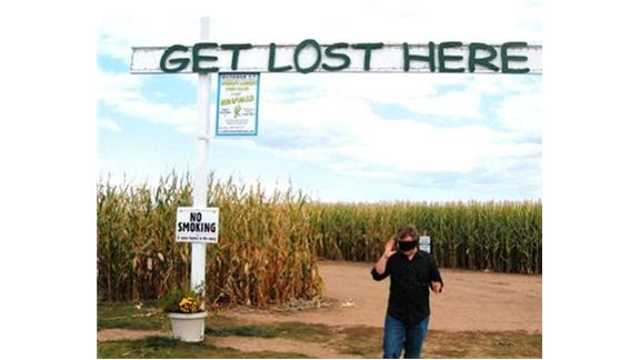 Fastest Time To Complete Richardson Farm Corn Maze While Blindfolded