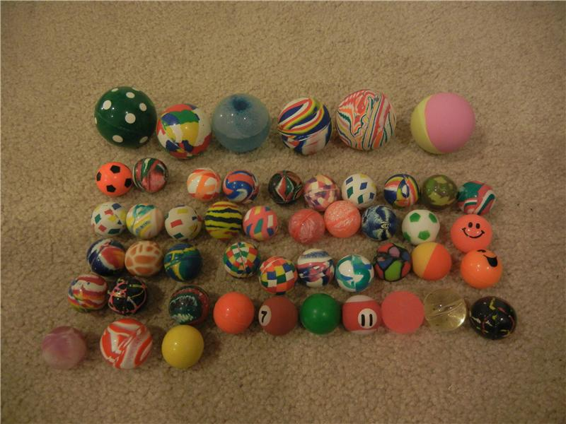 Largest Collection Of Bouncy Balls