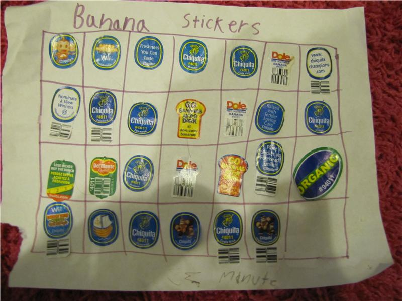 Largest Collection Of Banana Stickers