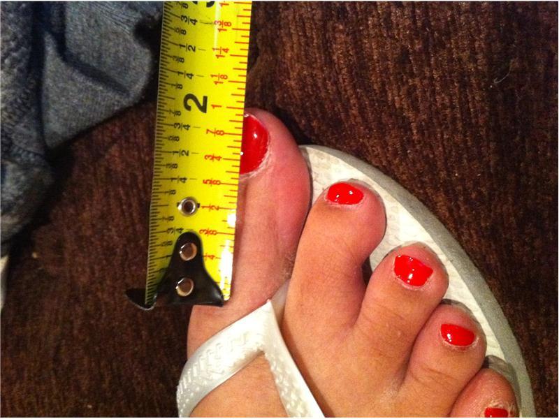 Deepest Toe Cameltoe (Female)