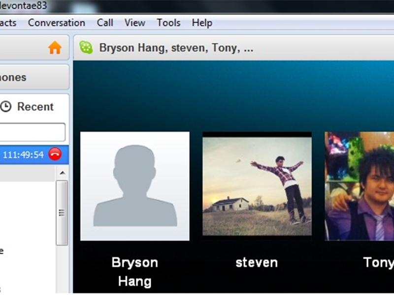 Longest Active Skype Call