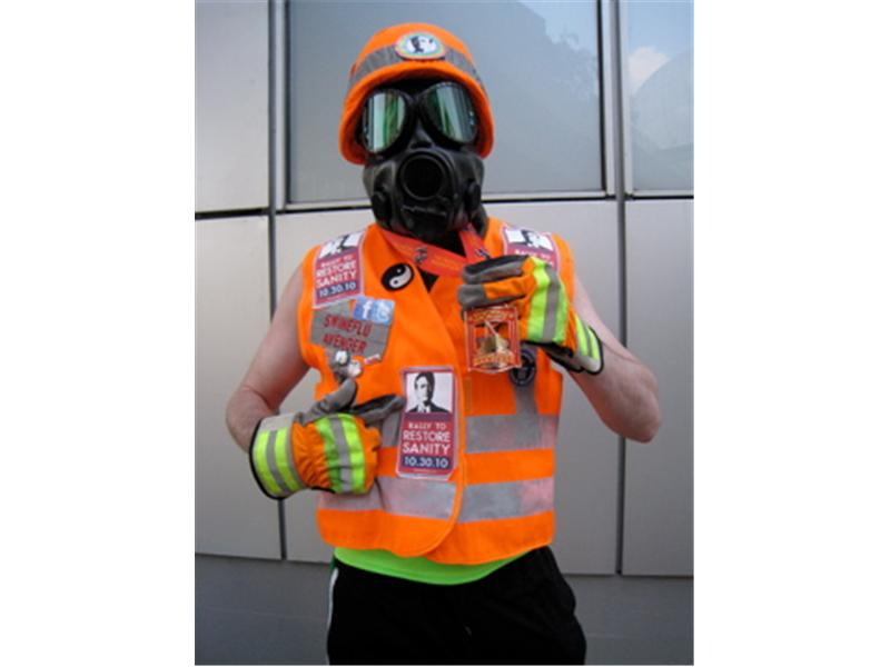 Fastest Time To Run A Marathon While Wearing A Gas Mask, A Flak Jacket, And A Kevlar Helmet
