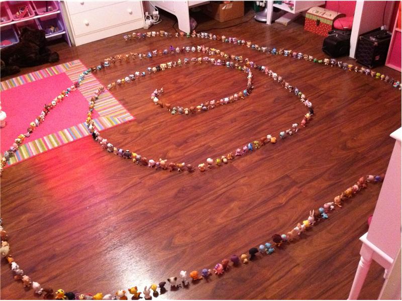 Largest \'Littlest Pet Shop\' Toy Spiral