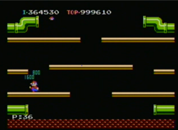 Highest Score On Mario Bros. (NES)