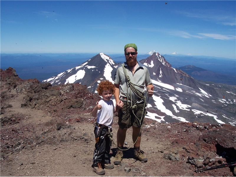 Youngest Person To Climb South Sister In Oregon