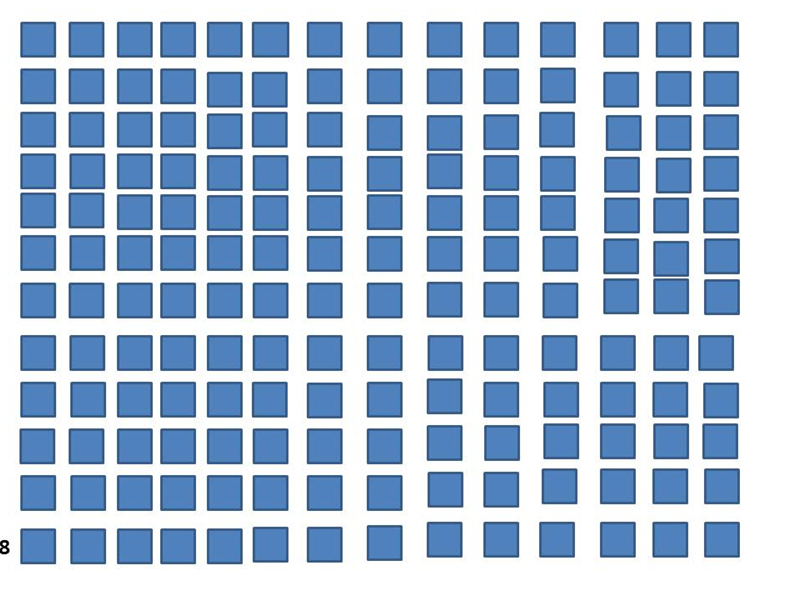 Most Square Shapes Fit On A PowerPoint Slide