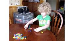 Fastest Time For A 4-Year Old To Sort 106 Jelly Beans By Color