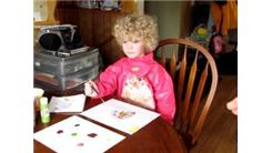Fastest Time For A 4-Year Old To Paint A Rainbow