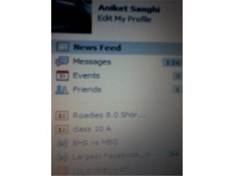 Most Unread Facebook Messages