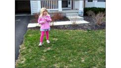Fastest Time To Run Around A House By A Six-Year-Old Girl