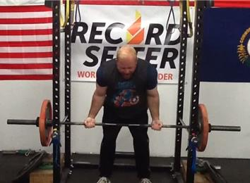 Most Reps Curling A 155-Pound Olympic Barbell