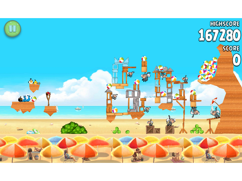 Highest Score On A Single Level Of Angry Birds Rio Free