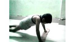 Fastest Time To Complete 50 Knuckle Push-Ups By A Five-Year Old Boy
