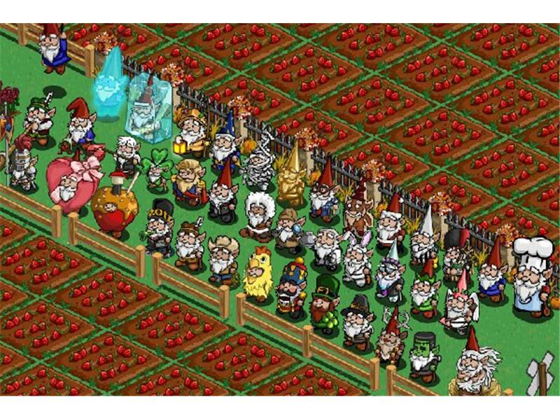 Largest Farmville Gnome Collection