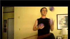 Longest Time Juggling Three Two-Pound Balls In A Half-Shower Pattern While Hula Hooping