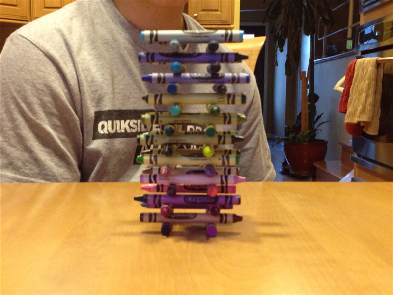 Highest Crayon Tower