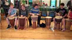 Longest Drum Circle By Young Adult Cancer Survivors