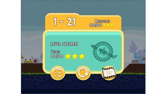 Highest Score On Level 1-21 Of