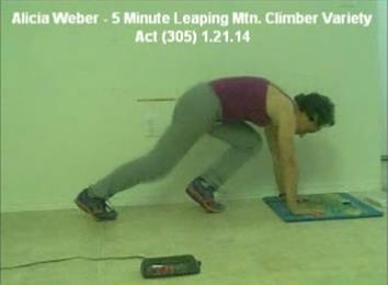 Most Reps In Five Minutes Of Leaping Mountain Climber Variety Act