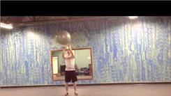 Longest Time Spinning A Yoga Ball On Finger While Hula Hooping