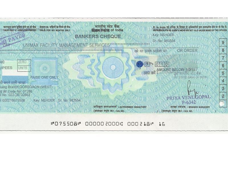 Most Multiples Of Actual Amount Paid As Commission For A Banker\'s Cheque