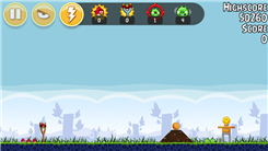 "Highest Score On Level 1-3 Of ""Angry Birds-Poached Eggs"""