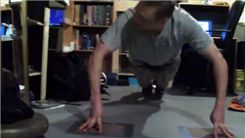 Most Consecutive Eight-Fingered Push-Ups On Concrete Floor